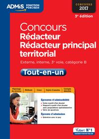 Concours Rédacteur et Rédacteur principal territorial - Catégorie B - Tout-en-un