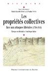 Livre numérique Les propriétés collectives face aux attaques libérales (1750-1914)