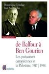 Livre numérique De Balfour à Ben Gourion