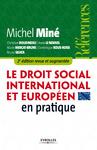 Livre numérique Le droit social international et européen en pratique