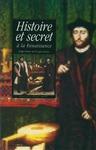 Livre numérique Histoire et secret à la Renaissance