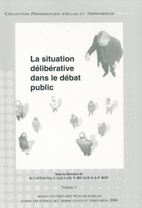 Livre numérique La situation délibérative dans le débat public