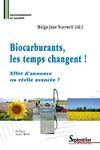 Livre numérique Biocarburants, les temps changent!