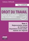 Livre numérique Droit du travail - Tome 1 / 2e édition