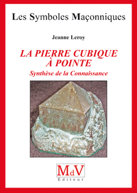 Livre numérique N.34 La pierre cubique à pointe synthèse de la connaissance