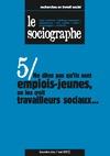 Livre numérique le Sociographe n°5 : Ne dites pas qu'ils sont emplois-jeunes, on les croit travailleurs sociaux