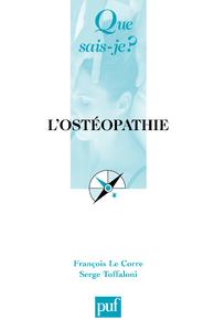 L'ostéopathie, « Que sais-je ? » n° 3139