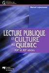Livre numérique Lecture publique et culture au Québec