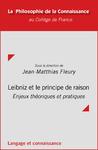 Livre numérique Leibniz et le principe de raison
