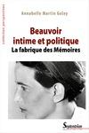 Livre numérique Beauvoir intime et politique