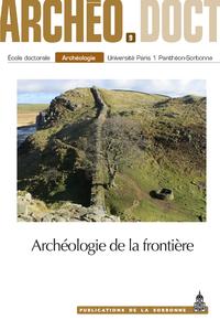 Livre numérique Archéologie de la frontière