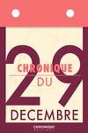 Livre numérique Chronique du 29 décembre