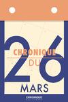 Livre numérique Chronique du 26  mars