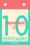 Livre numérique Chronique du 10 septembre