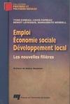 Livre numérique Emploi, économie sociale et développement local