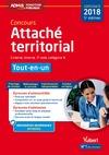 Livre numérique Concours Attaché territorial - Catégorie A - Tout-en-un