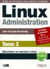 Livre numérique Linux Administration - Tome 3