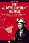 Livre numérique Défi au développement régional