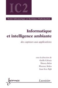 Livre numérique Informatique et intelligence ambiante