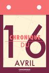 Livre numérique Chronique du 16  avril