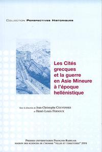 Livre numérique Les Cités grecques et la guerre en Asie mineure à l'époque hellénistique