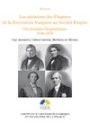 Livre numérique Les ministres des Finances de la Révolution française au Second Empire (III)
