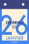 Livre numérique Chronique du 26  janvier