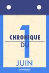 Livre numérique Chronique du 1er  juin
