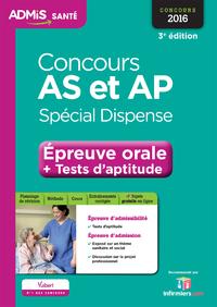 Concours AS et AP - Spécial dispense - Épreuve orale et tests d'aptitude - Tout-en-un