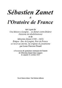 Sébastien Zamet et l'Oratoire de France