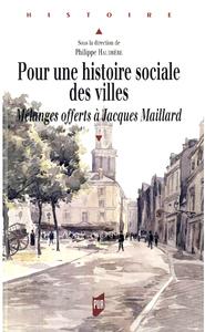 Pour une histoire sociale des villes