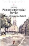 Livre numérique Pour une histoire sociale des villes