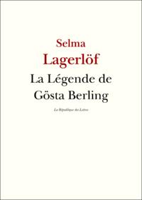 Livre numérique La légende de Gösta Berling