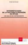 Livre numérique Interprétations de la politique étrangère d'Hitler