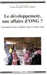 Livre numérique Le développement, une affaire d'ONG?