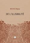 Livre numérique De l'illisibilité