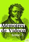 Livre numérique Mémoires de Vidocq, tome 3