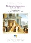 Livre numérique L'information économique, XVIe-XIXesiècle