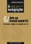 Livre numérique le Sociographe n°6 : Arts en travail social (1)