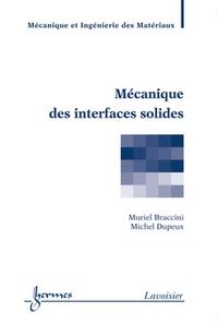 Livre numérique Mécanique des interfaces solides