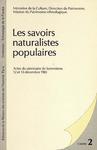 Livre numérique Les savoirs naturalistes populaires
