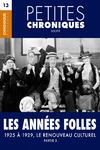 Livre numérique Petites Chroniques #13 : Les années folles — 1925 à 1929, Le renouveau culturel - Partie 2