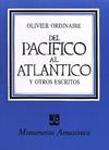 Livre numérique Del Pacífico al Atlántico y otros escritos