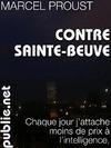 Livre numérique Contre Sainte-Beuve