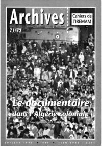 Livre numérique Le documentaire dans l'Algérie coloniale
