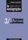 Livre numérique le Sociographe n°3 : L'histoire en pratiques