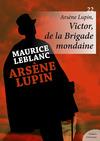 Livre numérique Arsène Lupin, Victor, de la Brigade mondaine
