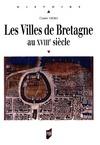 Livre numérique Les Villes de Bretagne au XVIIIe siècle