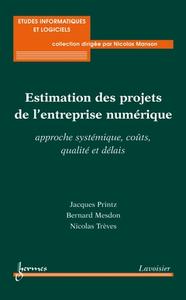 Livre numérique Estimation des projets de l'entreprise numérique