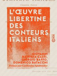 L'OEuvre libertine des conteurs italiens